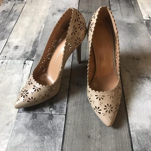 b2e3cd6107a8 LC Lauren Conrad Shoes - LC Lauren Conrad Nude Cutout Heels